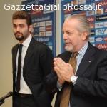 """AS ROMA De Laurentiis: """"La sfida con la Roma sembra fatta apposta"""""""