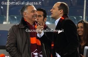 James Pallotta Mauro Baldissoni Italo Zanzi