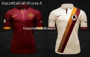 Le nuove maglie Nike As Roma