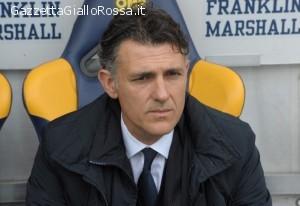 Il tecnico del Catania Maurizio Pellegrino