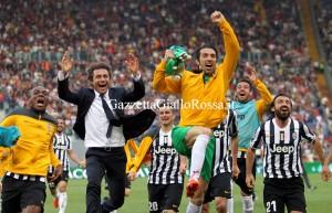 Roma-Juventus Buffon Conte