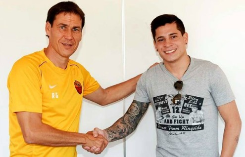 Iturbe Garcia (Foto As Roma)