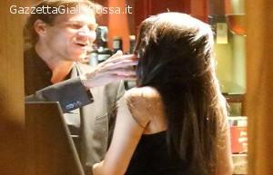 Rudi Garcia con Francesca Brienza