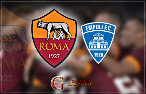 Roma Empoli Copertina