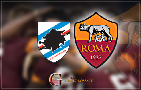 Sampdoria Roma Copertina