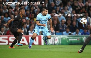 Manchester City-Roma Cole