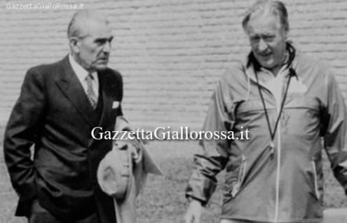 Dino Viola e Nils Liedholm