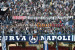 Striscione tifosi Napoli