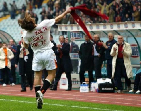 Totti e la maglia del record di gol