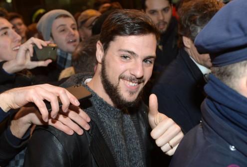 Mattia Destro arriva a Milano