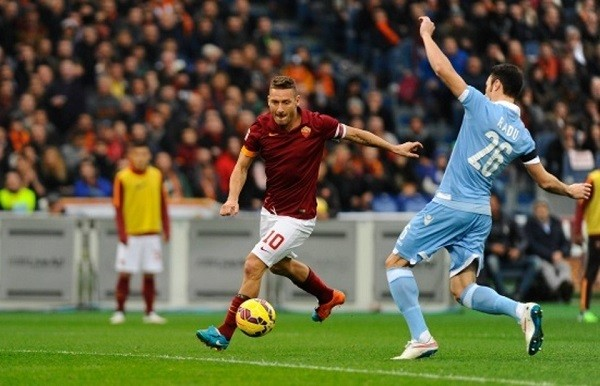 Lazio-Roma, Francesco Totti: