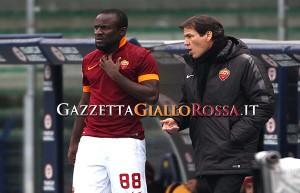 Verona-Roma Doumbia e Garcia