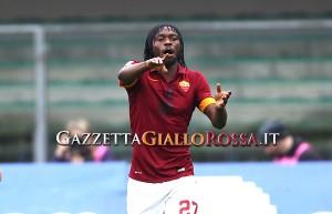 Verona-Roma Gervinho