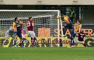 Il gol del definitivo 1-1 firmato da Jankovic