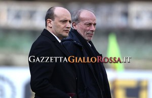Chievo-Roma Baldissoni e Sabatini