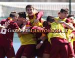 Giovanissimi Roma-Lazio esultanza della squadra