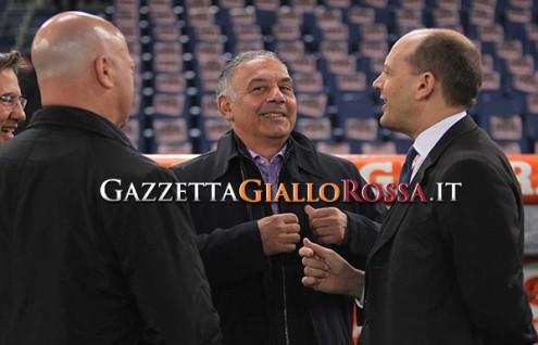 Roma-Juventus Pallotta e Baldissoni