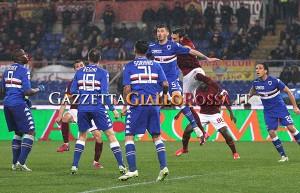 Roma-Sampdoria Romagnoli e Astori