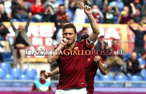 Roma-Atalanta gol Totti