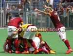 Roma-Genoa esultanza