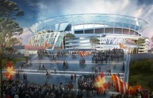 Stadio della Roma (foto asroma.it)