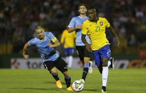 Gerson con la maglia del Brasile U20