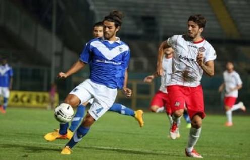 Michele Somma con la maglia del Brescia