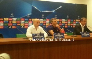 Luis Enrique in conferenza stampa