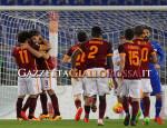 Roma-Sampdoria esultanza