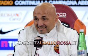 Luciano Spalletti in conferenza