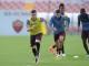 El Shaarawy e Strootman in allenamento (foto as roma.co)