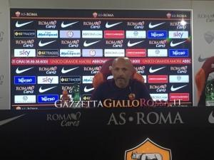 Conferenza Spalletti Roma Udinese