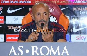 Spalletti conferenza stampa Roma Udinese