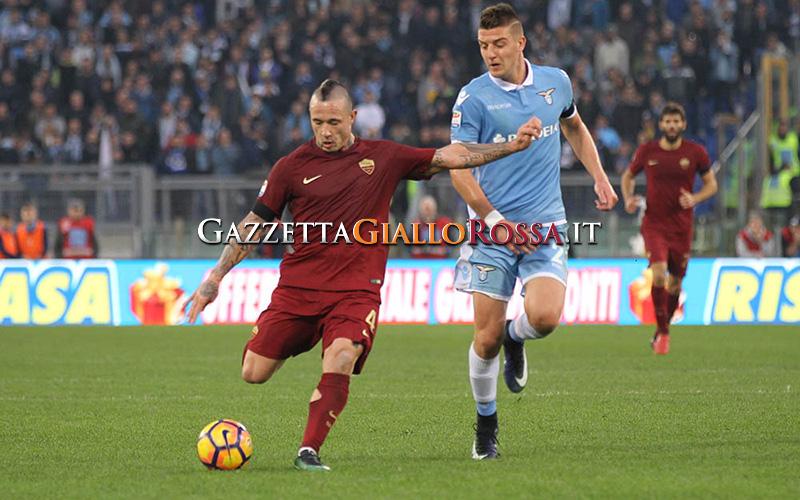 Lazio-Roma Gol Nainggolan