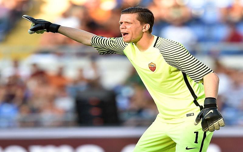 Roma, Szczesny a testa bassa: