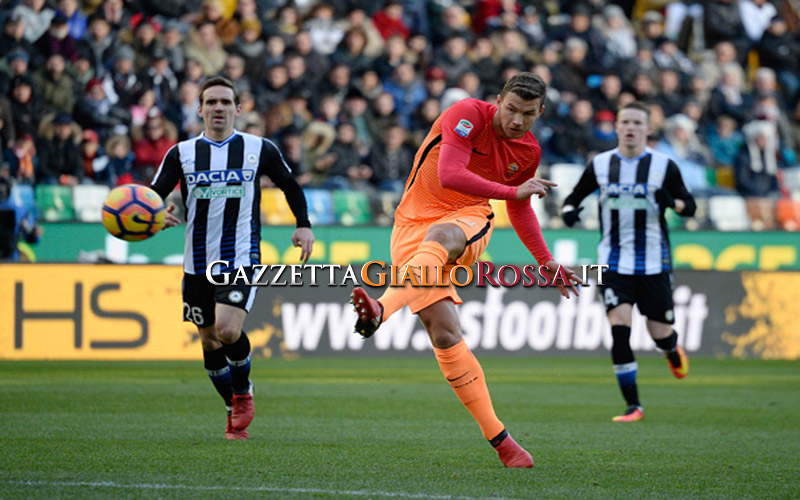 Udinese-Roma 0-1: le pagelle. Dzeko irriconoscibile, super Nainggolan. Bene Fazio ed Emerson