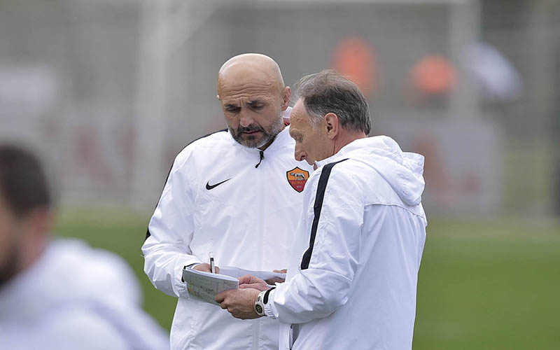 Spalletti e Domenichini