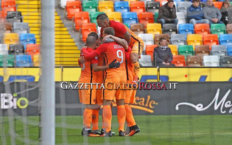 Pagelle Udinese-Roma 0-1, Nainggolan uomo partita, Szczesny insuperabile | Top&Flop