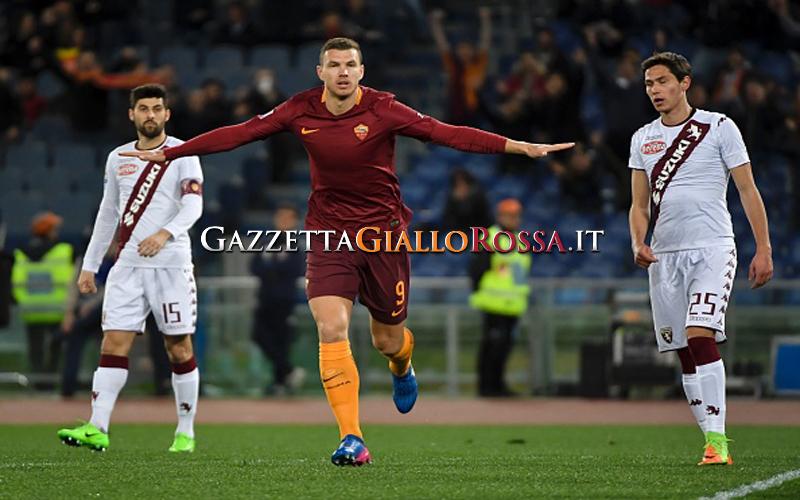 Mercato Roma, il Bayern Monaco pensa a Dzeko come riserva di Lewandowski