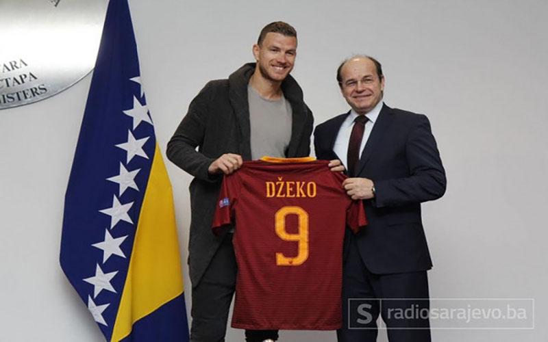 Roma, Edin Dzeko: