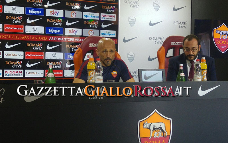 Luciano Spalletti in conferenza stampa