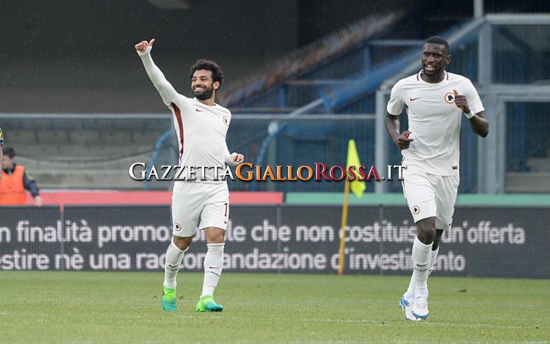 Roma, Salah: 'Bianconeri troppo forti, ma stagione incredibile'