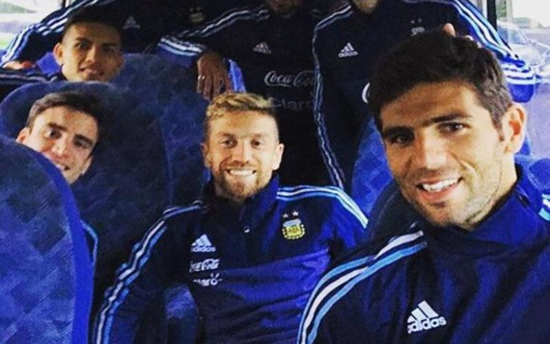 Fazio, Paredes e Gomez