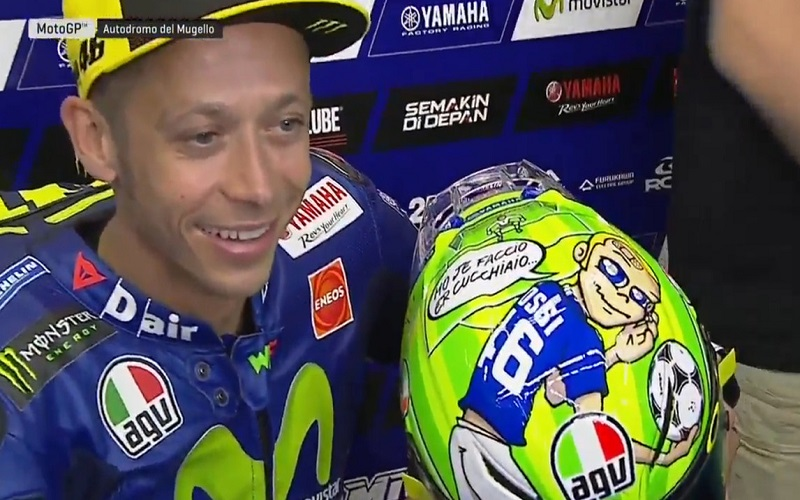Mugello, Warm-Up: Vinales si conferma in vetta, Rossi è settimo