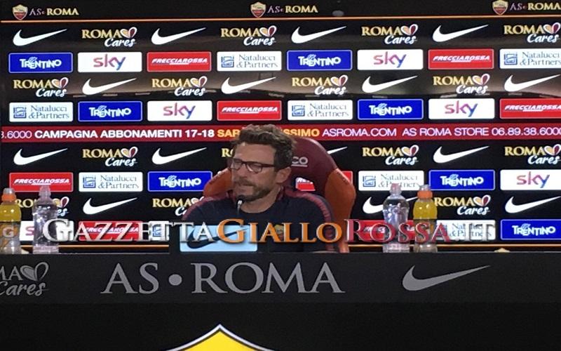 Atalanta-Roma, Di Francesco: