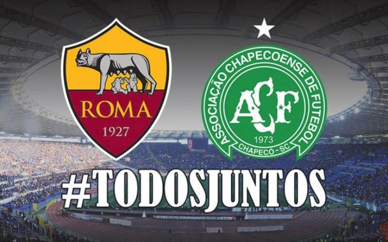 Totti invita tutti a Roma-Chapecoense: