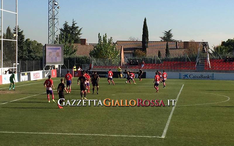 Youth League, Atletico Madrid-Roma 2-1: fuori i giallorossi 20 22-11