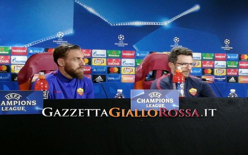 De Rossi, gioia Champions: