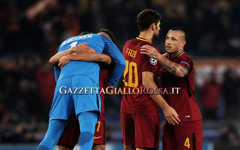 Champions League: Roma-Qarabag 1-0, Perotti per il primo posto