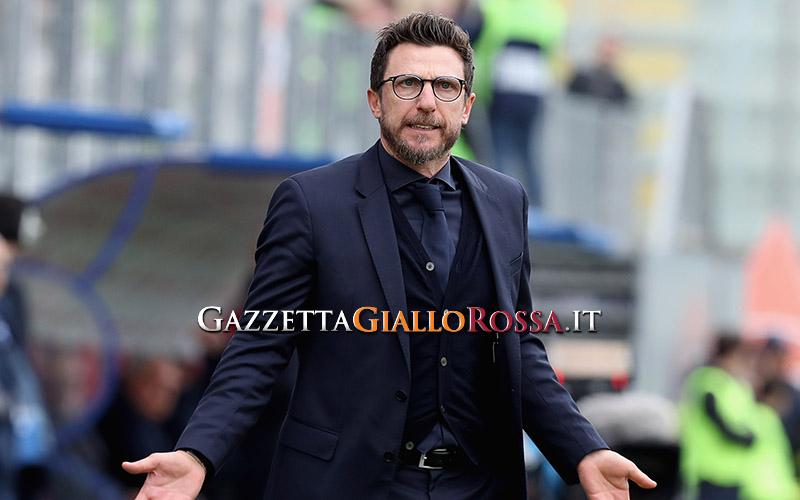 Di Francesco promuove la Roma: